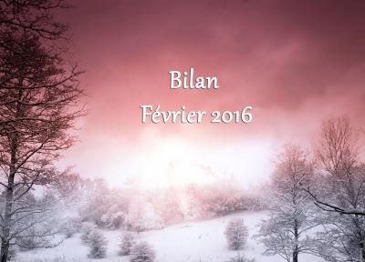 Bilan Février