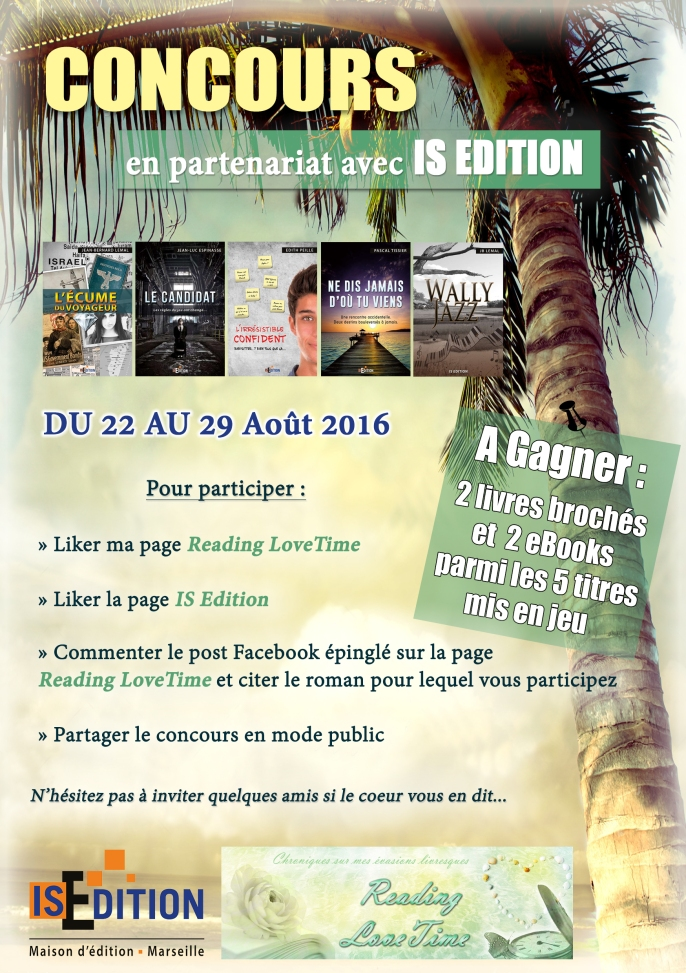 Jeu-Concours #4 IS Edition