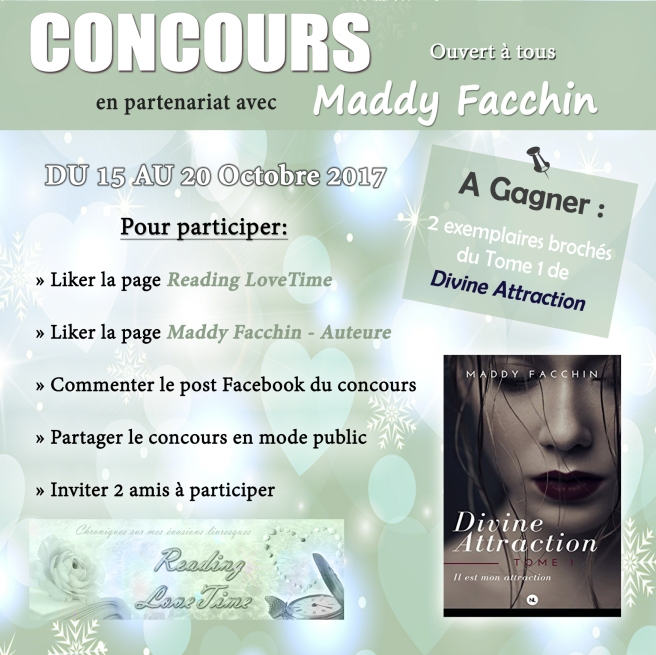 Jeu-Concours avec Maddy F