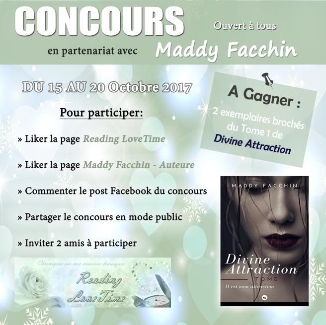 Jeu-Concours avec Maddy F